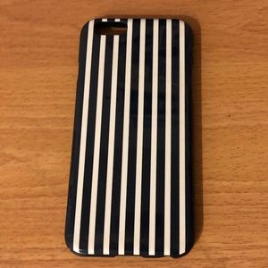 J. Crew Navy and White Striped iPhone 6/6S Case